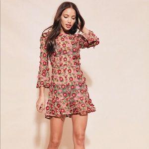 NWT For Love and Lemons Amelia Dress, Small